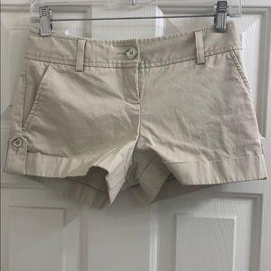 Express khaki dress shorts size 00